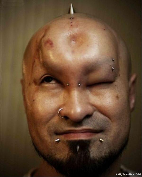 عکس های چهره ترسناک زنان و مردان شیطان پرست