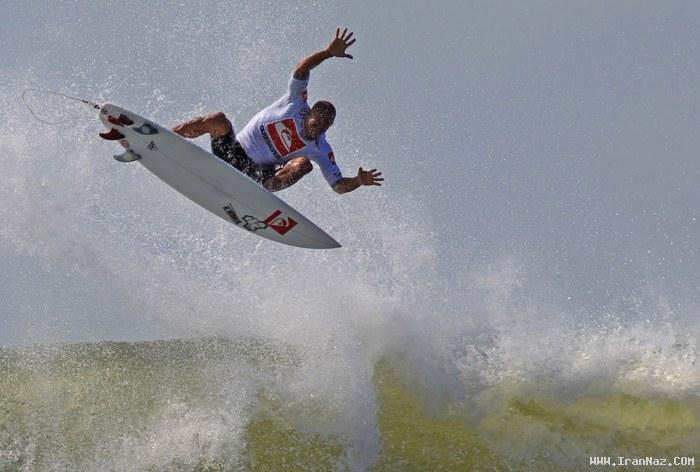 عکسهای هیجان انگیز موجسواری در سواحل کالیفرنیا