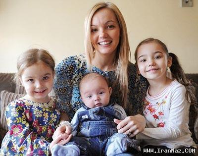 عجیب ترین مادر جهان همراه با سه دخترش +عکس