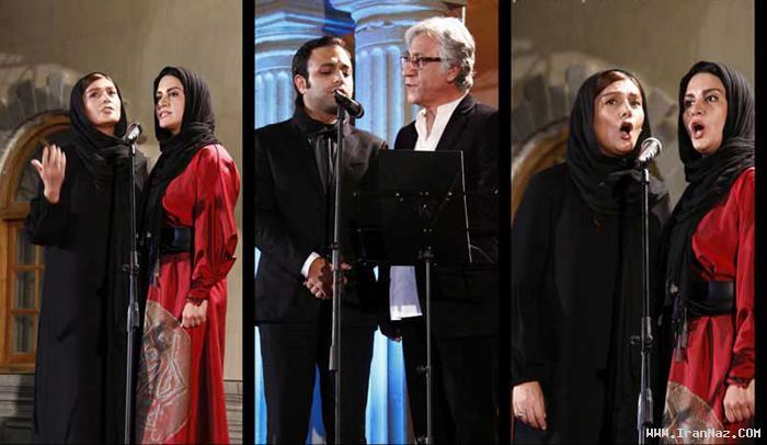 آواز خوانی مریلا زارعی و مهران مدیری در یک جشن!