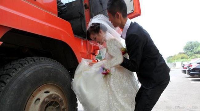 جالب ترین و دیدنی ترین عروسی کشور چین +عکس