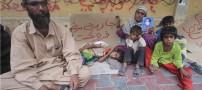 پدری که بخاطر فقر کودکان خود را می فروشد +عکس