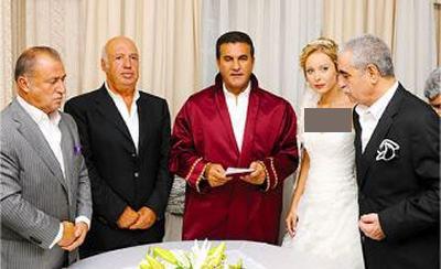 مراسم ازدواج ابراهیم تاتلیس در بیمارستان + تصاویر