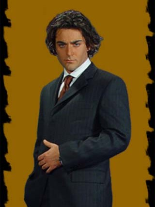 عکس های محمدرضا گلزار از زمانی که مدل لباس بود