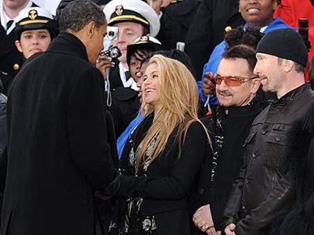 شکیرا خواننده معروف مشاور باراک اوباما شد +عکس