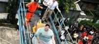 عکس هایی از کسب درآمد تایلند از زنی 274 کیلویی
