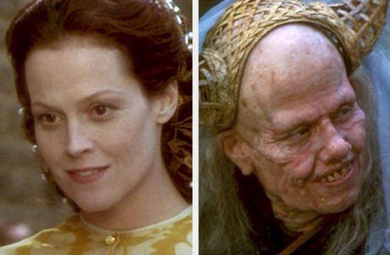عکس هایی از زنان زیبایی که خون آشام و هیولا شدند