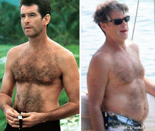عکس های دیدنی از خوش تیپ ترین مردان دیروز و ...!