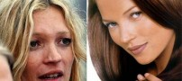 عکس های چهره زنان معروف هالیوود قبل و بعد آرایش