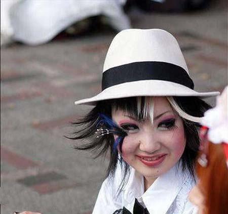 عکس های بسیار وحشتناک و عجیب از آرایش دختران  ، www.irannaz.com