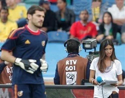 جذاب ترین دختر گزارشگر مسابقات ورزشی! + عکس