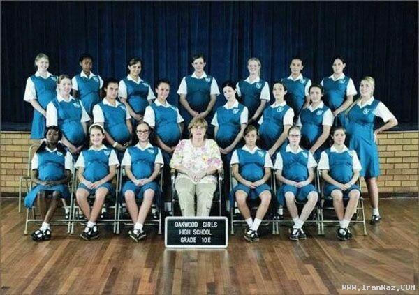 باردار شدن 90 دانش آموز دختر یک دبیرستان +عکس