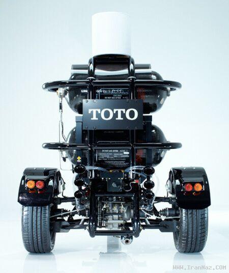 موتوری که سوخت آن از مدفوع انسان است + تصاویر