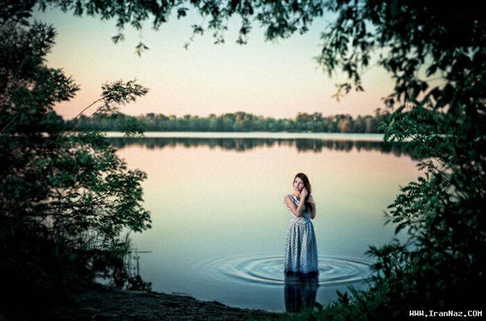 عکس هایی عاشقانه و احساسی از لحظات تنهایی
