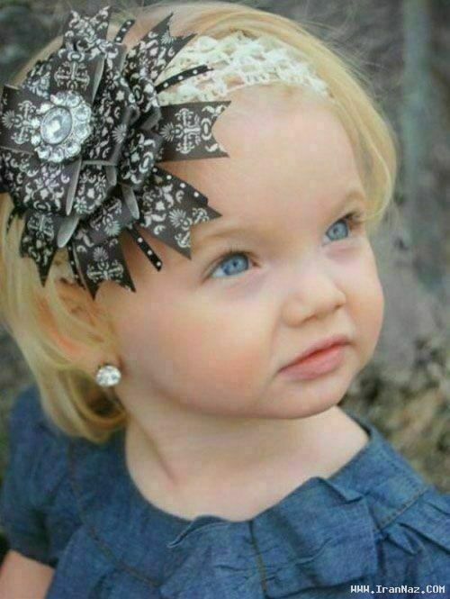 عکس هایی دیدنی از کوچک ترین دختر مانکن جهان