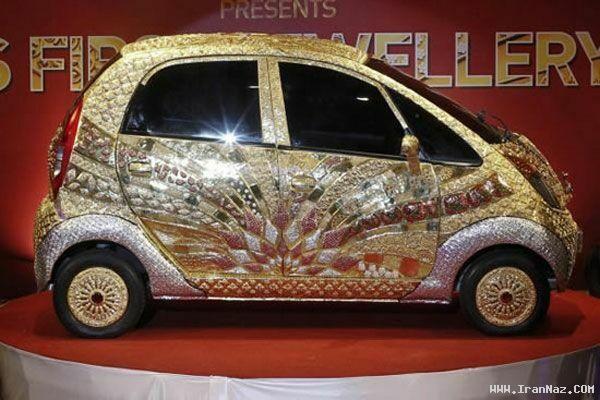 گران ترین خودروی کوچک جهان ساخته شده از طلا ، www.irannaz.com