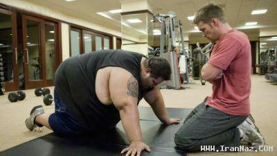 عکس های دیدنی از کاهش وزن 150 کیلویی یک مرد
