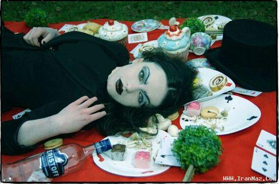عکس های آرایش باور نکردنی دختران شیطان پرست ، www.irannaz.com