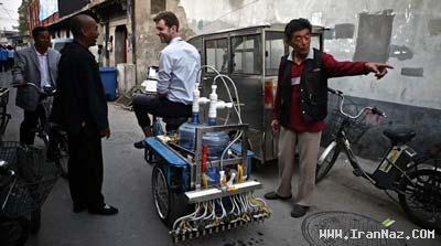 عکس هایی از عجیب ترین وسیله نقلیه جهان +عکس