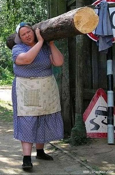 باز هم می گویید که زنان ضعیف و …. هستند +عکس