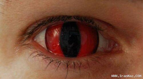 عکس هایی از لنز های بسیار عجیب شیطان پرستان