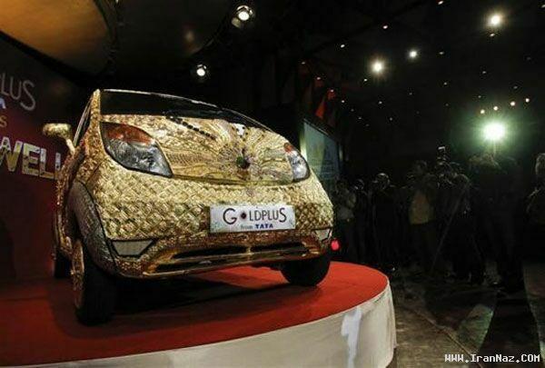 گران ترین خودروی کوچک جهان ساخته شده از طلا