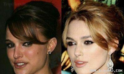 عکس های شبیه ترین افراد به بازیگران مشهور هالیوود ، www.irannaz.com
