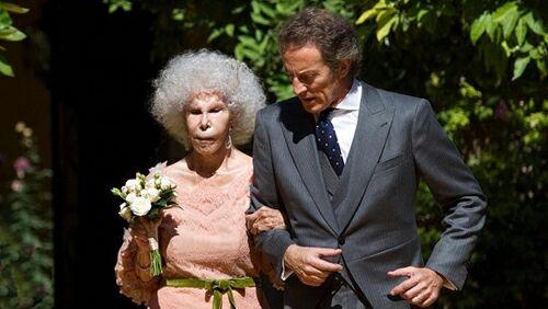 ازدواج عروس خانم 85 ساله با داماد 25 ساله +عکس