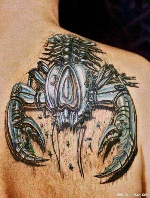 عکسهایی از خالکوبی های بسیار عجیب و سه بعدی