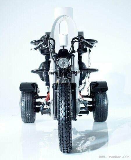 موتوری كه سوخت آن از مدفوع انسان است + تصاویر