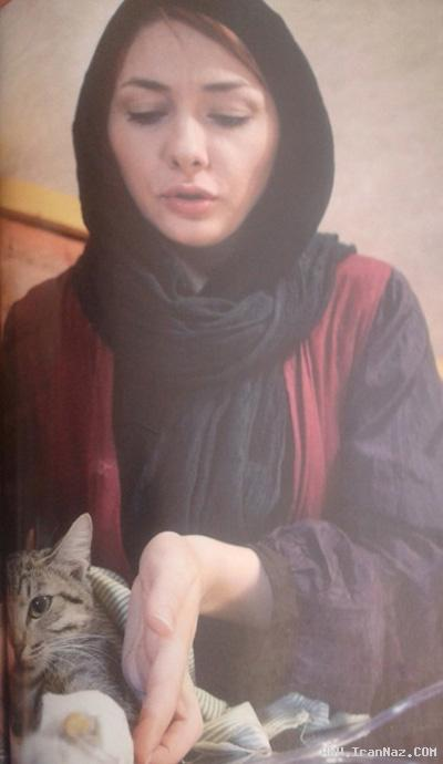 مصاحبه عجیب هانیه توسلی در مورد گربه اش +عکس ، www.irannaz.com