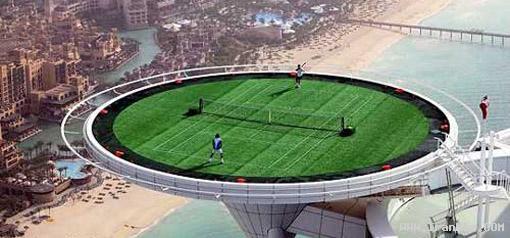 عجیب ترین و جالب ترین مکان های ورزشی در جهان