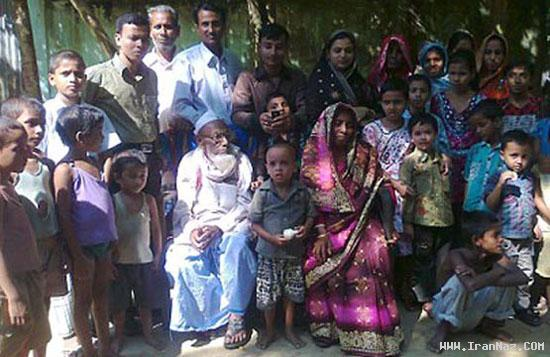 به خانه بخت رفتن پیرترین داماد جهان در هند +عکس