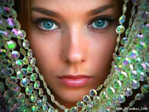 عکس هایی بسیار دیدنی از زیبا ترین چشم های دنیا