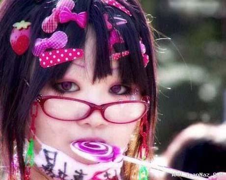عکس هایی از وحشتناک ترین آرایش دختران در جهان