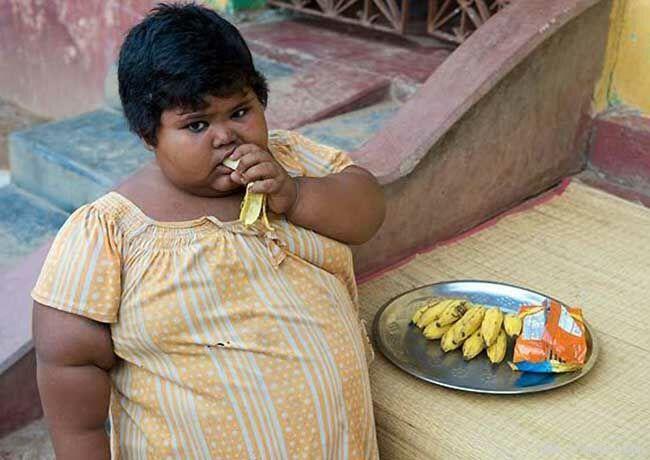 Ну очень толстая девочка (10 фото) .