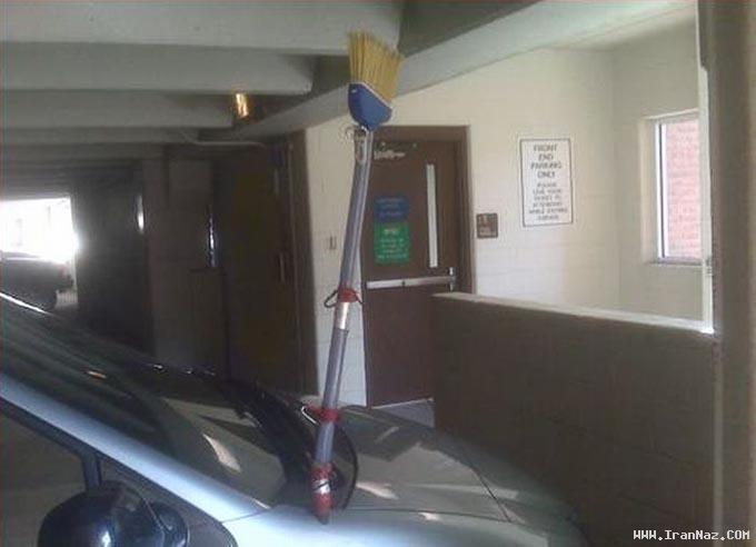 عکس های بسیار خنده دار از خلاقیت در تعمیر اتومبیل