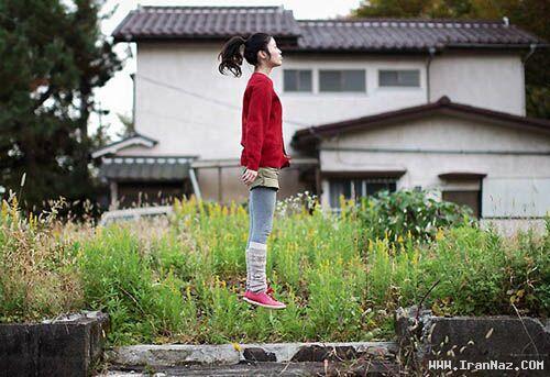 شهرت دختر ژاپنی بخاطر عکس های جالبش +تصاویر