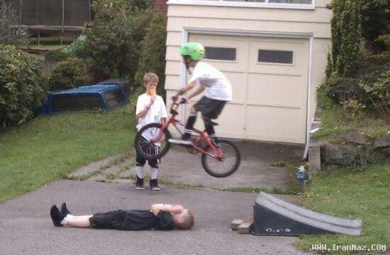 عکس های جالب و خنده دار شکار لحظه های حوادث