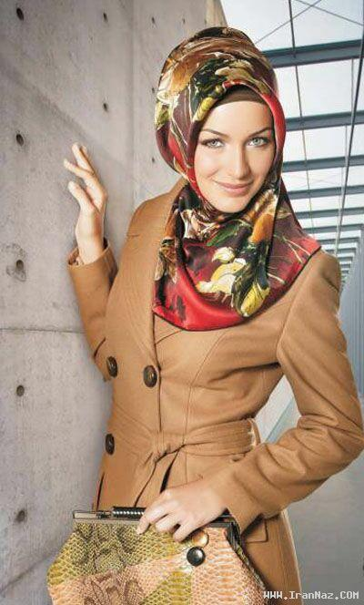 جدیدترین و زیباترین مدل مانتو و پالتو های پاییز امسال ، www.irannaz.com