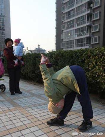 اگر 82 ساله شدی و توانستی اینجوری باشی، مردی ، www.irannaz.com
