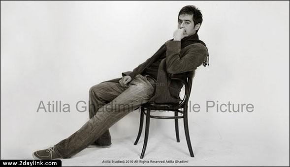 عکس های متفاوت و دیدنی از شهاب حسینی