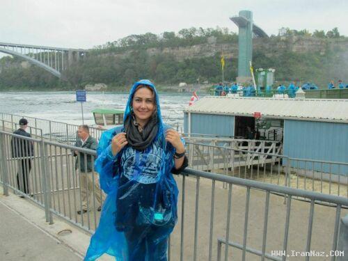 عکس های بسیار جدید آناهیتا نعمتی در خارج از کشور ، www.irannaz.com