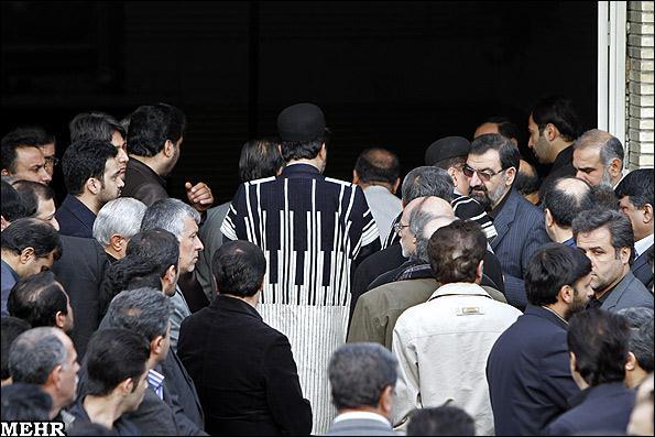 عکس هایی از مراسم تشییع پسر محسن رضایی