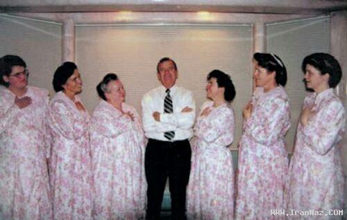 حبس ابد برای ازدواج با دختر 12ساله و 78 زن +عکس