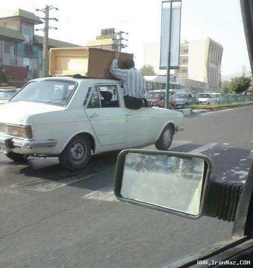 عکس هایی خنده دار که فقط در ایران می توان دید