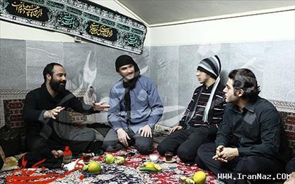 عکس های محمدرضا گلزار در مراسم عزاداری محرم