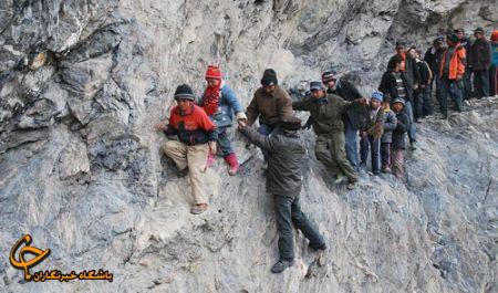 www.irannaz.com مدرسه رفتن با اعمال شاقه! + تصاویر