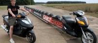 جالب ترین و خنده دار ترین موتور سیکلت دنیا +تصاویر
