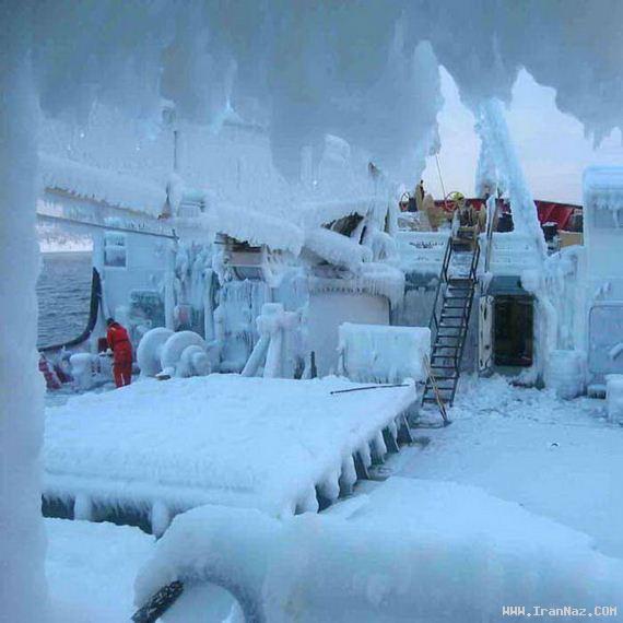 عکس هایی باور نکردنی از سرد ترین شهر های دنیا